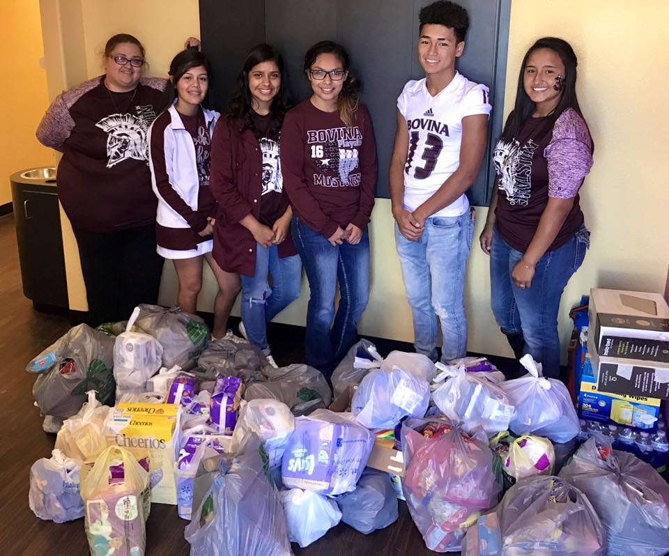 Student Council Harvey Relief Effort