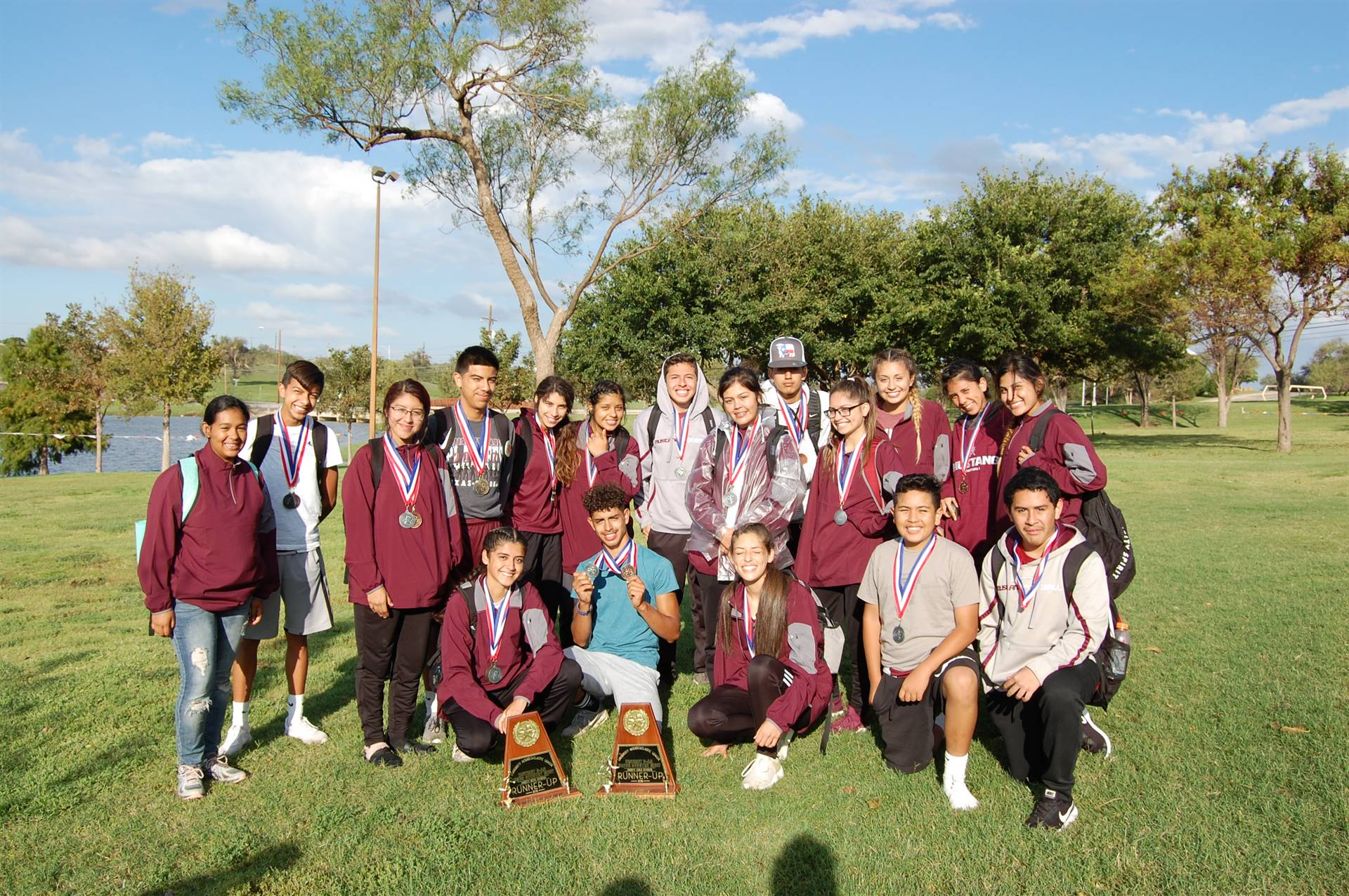 Picture of Bovina High School District Cross Country Team
