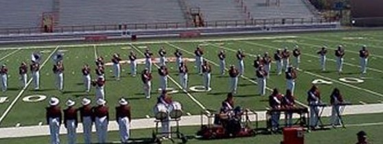 Band at Marching Contest