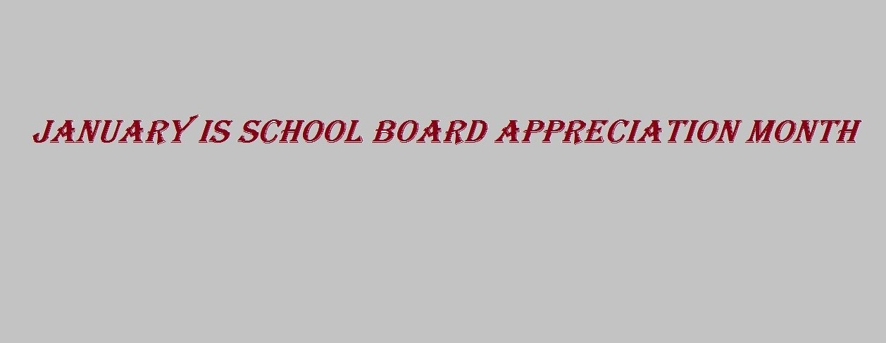 School Board Appreciation