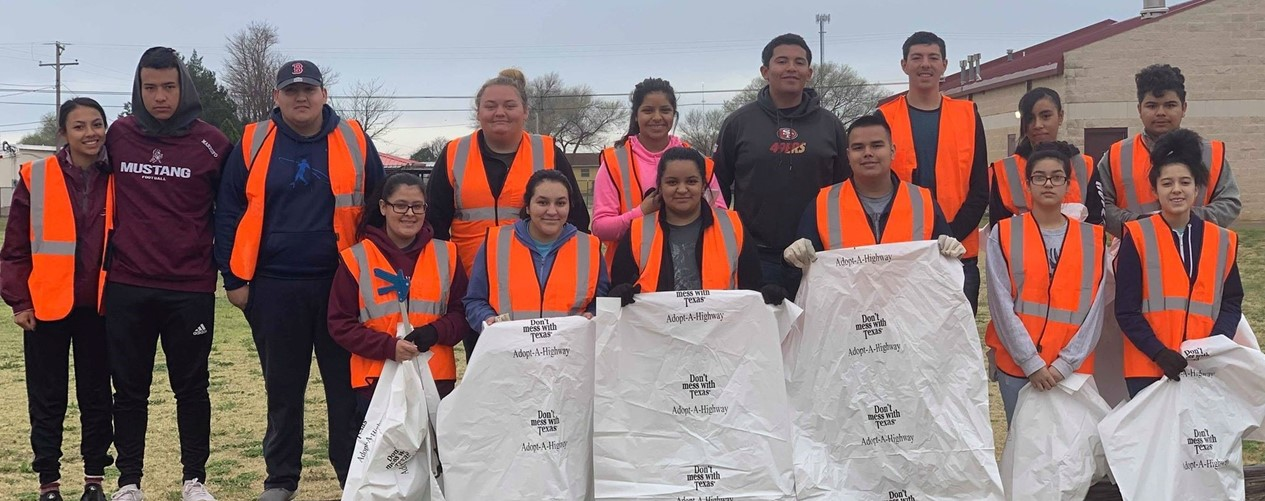 Student Council Highway Cleanup