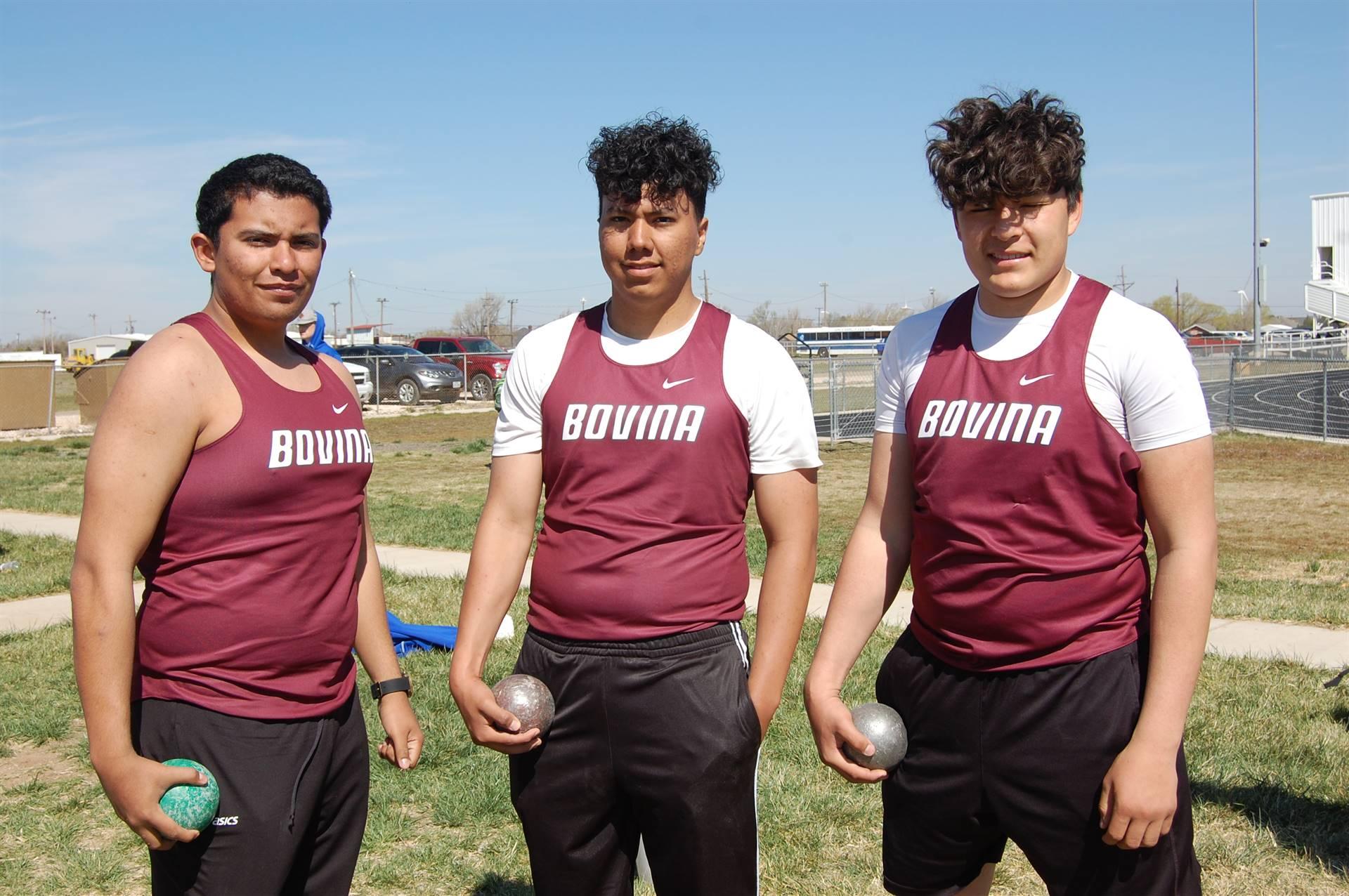 Bovina Track and Field Team